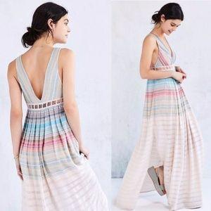 Ecote Sanibel Rainbow Maxi Dress- Urban Outfitters